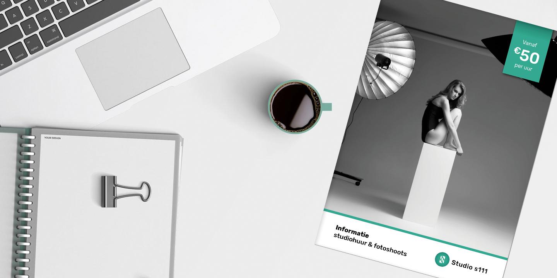Brochure - Studiohuur - Header